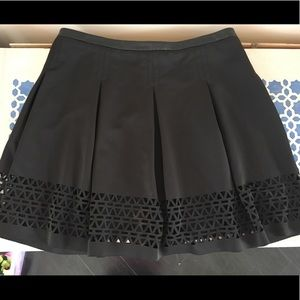 Fit & Flare Skirt, with Cut Outs